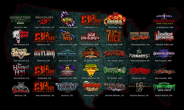 America Haunts Member Attractions